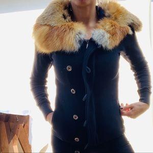 100% Fox Fur Jacket
